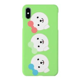 アイドルふうふう三姉妹!スマホケースグリーン Smartphone cases