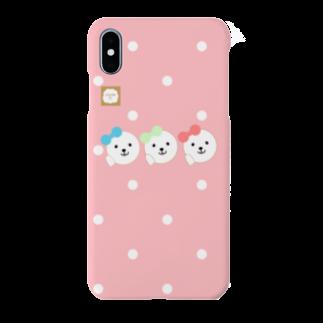 【COLOM.】コロ。のアイドルふうふう犬三姉妹スマホケース Smartphone cases