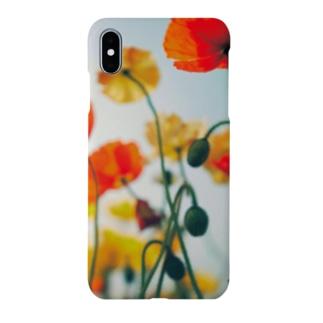 ブティック★なみのphotography Poppy Smartphone cases
