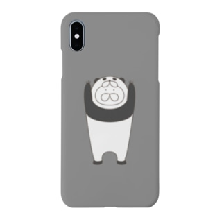 ねこタイツ パンダ Smartphone cases