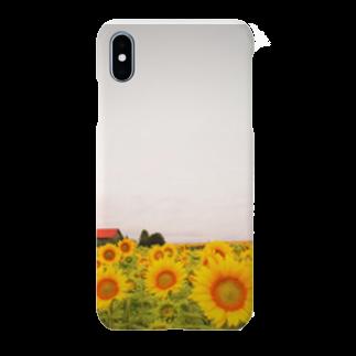 まるのすけのひまわり Smartphone cases