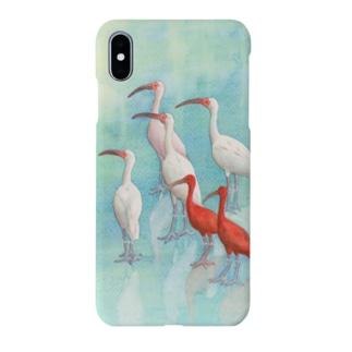 トキ Smartphone cases