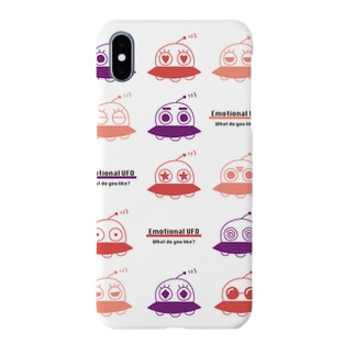 Emotional UFO(感情豊かなUFO) Smartphone cases