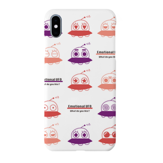 MH shopのEmotional UFO(感情豊かなUFO) Smartphone cases