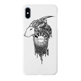 夢羊 白 Smartphone cases