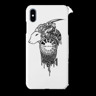 ハルノキ工房の夢羊 白 Smartphone cases