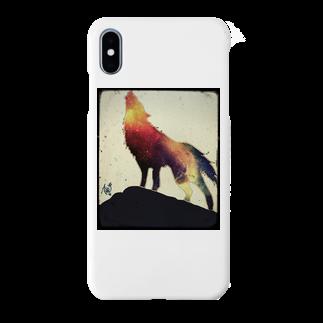 A*SUKEの狼 Smartphone cases
