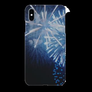 ぷぐの青々花火 Smartphone cases