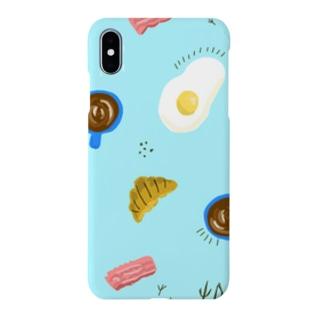 ゆるゆる朝ごはん Smartphone cases