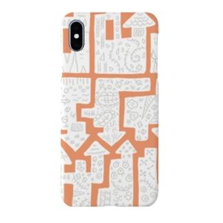 シロモヨウ Smartphone cases