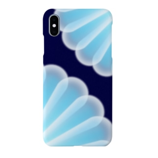 half clear petal Smartphone cases