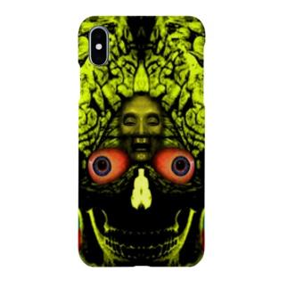 骸骨脳目 Smartphone cases