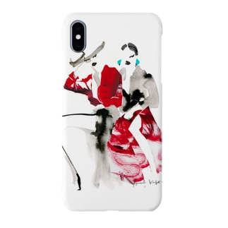 Nice girls(red) Smartphone cases