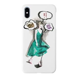 BUTSUYOKU GIRL Smartphone cases