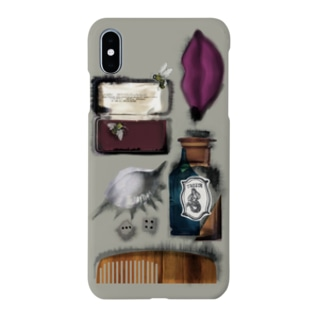 IN THE HER DRAWER(GRAY) Smartphone cases