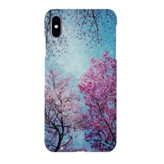 桜×宇宙 Smartphone cases
