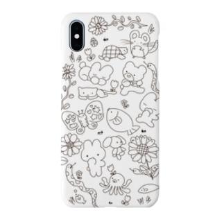 どうぶついっぱい🌷 Smartphone cases