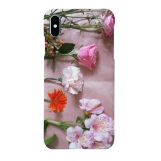 flower,ローズとガーベラとカーネーションと Smartphone cases