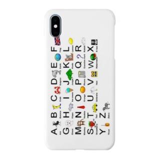 アルファベット 大文字 Smartphone cases