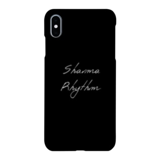 SR スマホケース Black Smartphone cases