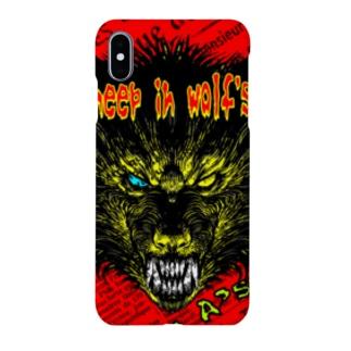 狼の皮を被った羊 Smartphone cases