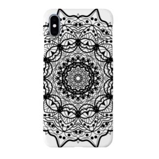 曼荼羅乃型一 Smartphone cases