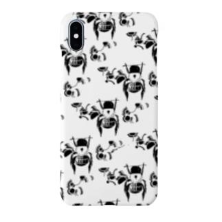 【ハチミツ大収穫】ころんとした蜂 Smartphone cases