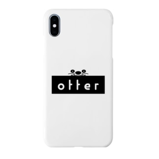 OTTER ロゴ Smartphone cases