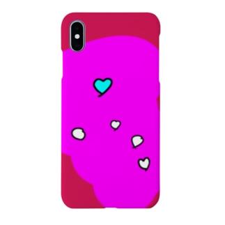 るんるんハート Smartphone cases