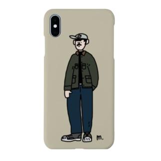 冬のCity Boy_ Smartphone cases