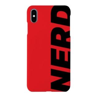 """NERD"" Red x Black Smartphone cases"