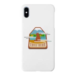 チルベアー リラックス中のクマさん Smartphone cases