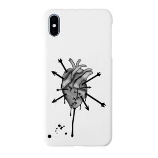 ハートブレーク Smartphone cases