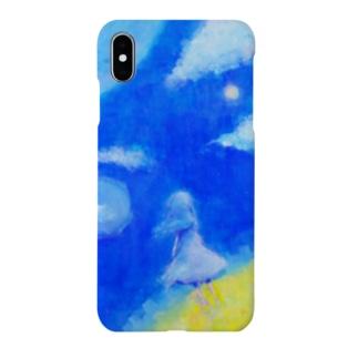 青の惑星 Smartphone cases