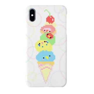 とりさん アイス Smartphone cases