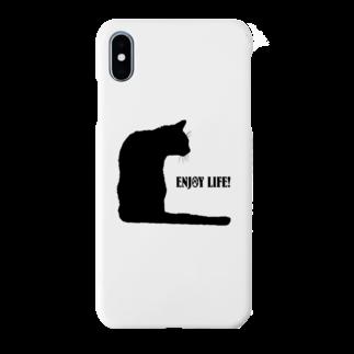 猫と釣り人のSmartphone cases
