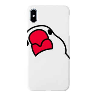 iPhoneXS Max 文鳥スマホケース  Smartphone cases