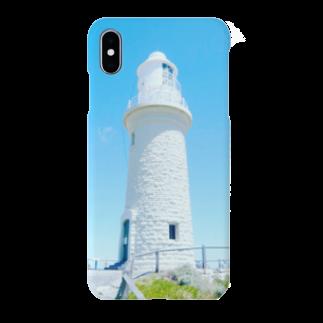 Sonokichiの青空と白い灯台 Smartphone cases