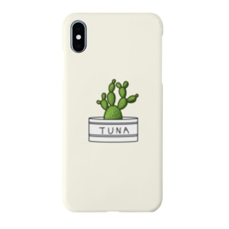 TUNAさぼてん Smartphone cases