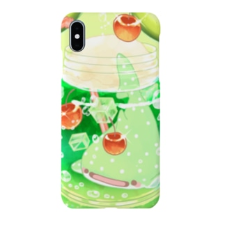 メロンソーダじんべえざめの小瓶 Smartphone cases
