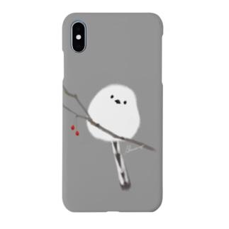 ふくふく シマエナガ Smartphone cases
