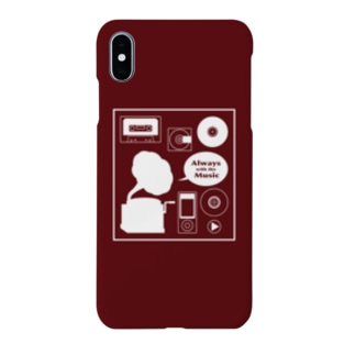 Music ミュージック スクエア Smartphone cases