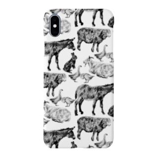 昼休みの動物園 Smartphone cases