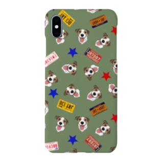 Saori  BTのJack Russel Terrier US vehicle plates Smartphone cases