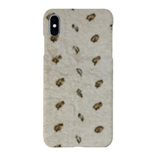 愛用毛布柄 Smartphone cases