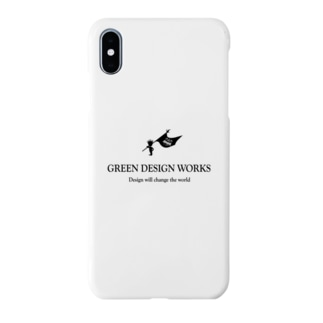GREEN DESIGN WORKS ロゴスマフォケース Smartphone cases