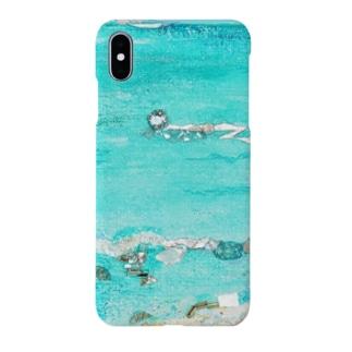 カイルアビーチ 波 Smartphone cases