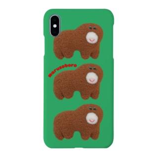 まるそぼろくん Smartphone cases