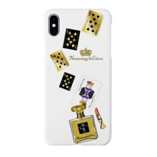 アンドアイデザイン 数秘&カラー🄬オマージュボトルNo8&GOLD Smartphone cases