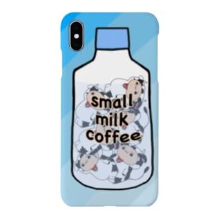 小さいミルクコーヒーですから Smartphone cases
